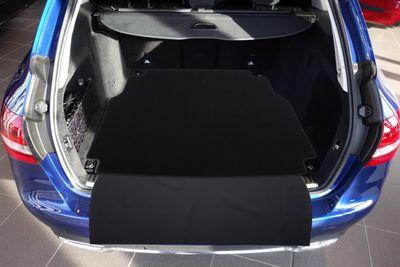 2-pieza estera del tronco con protección de parachoques para Mercedes Clase C T-Modelo S205
