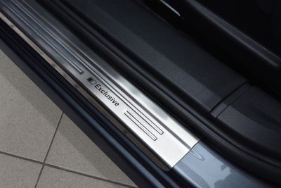 Exclusive stainless steel entry sills fits for Nissan Qashqai and 2008-2013