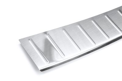 Protezione paraurti in acciaio inox adatto per Skoda Fabia MK 3 III anno 08/2014-07/2018