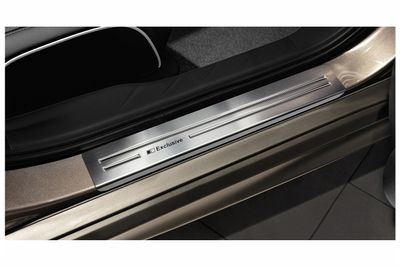 Exclusive stainless steel entry sills fits for Mitsubishi ASX 2010-