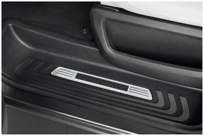 Plaques de seuil exclusives en acier inox adapté pour Mercedes V-Klasse Vito W447 3-portes
