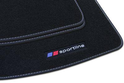 Sportline alfombras del automóvil Ford Kuga 2 II año 2013-2016