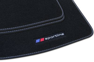 Sportline floor mats fits for Ford S-MAX 2006-2015 L.H.D only