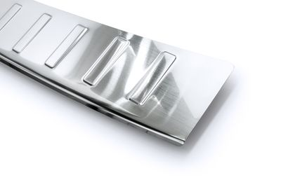 Stainless steel bumper protector fits for Skoda Octavia 3 III Scout 2014-