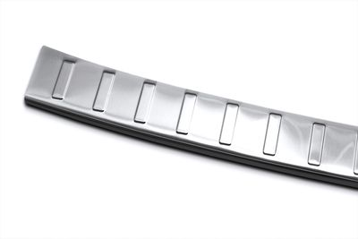 Stainless steel bumper protector fits for Fiat Qubo Fiorino 2008-