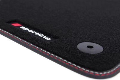 Premium Sportline floor mats fits for Seat Leon MK III 5F 2012- L.H.D only!