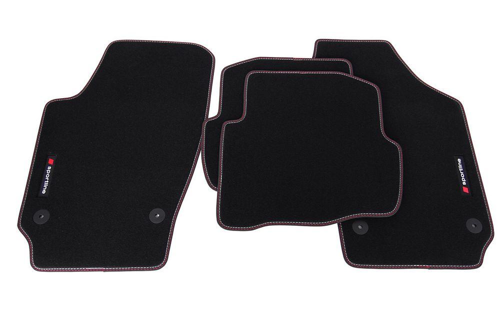 premium sportline tapis de sol adapt pour seat ibiza 3. Black Bedroom Furniture Sets. Home Design Ideas