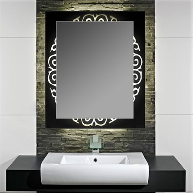 Beleuchteter Badezimmerspiegel Concerto