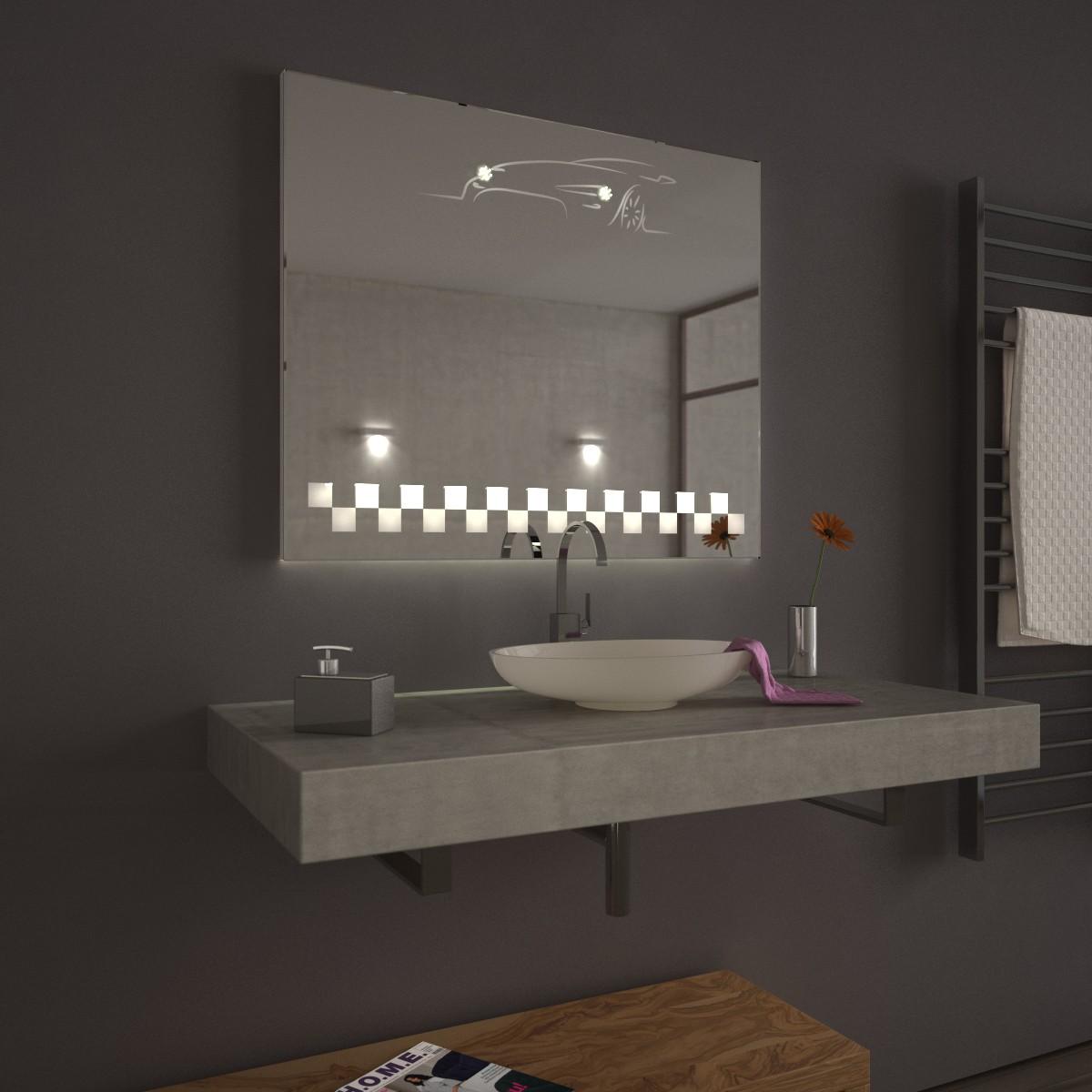 badspiegel mit led hockenheim oben und unten led 9000278. Black Bedroom Furniture Sets. Home Design Ideas