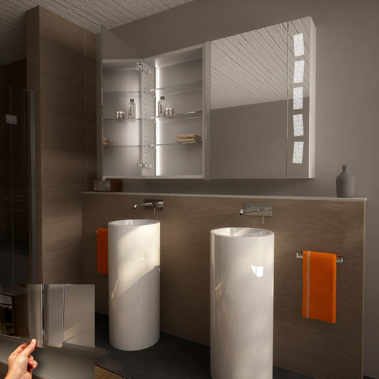 led spiegelschrank nach ma xanten badm bel spiegelschr nke 9000589. Black Bedroom Furniture Sets. Home Design Ideas