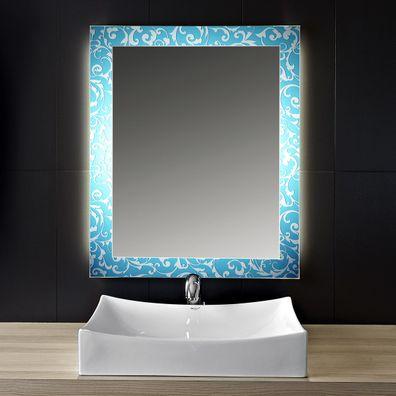 Badezimmerspiegel Blue Vintage