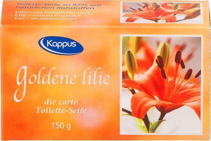 Goldene Lilie Seife
