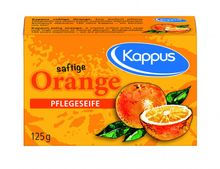 Saftige Orange Pflegeseife