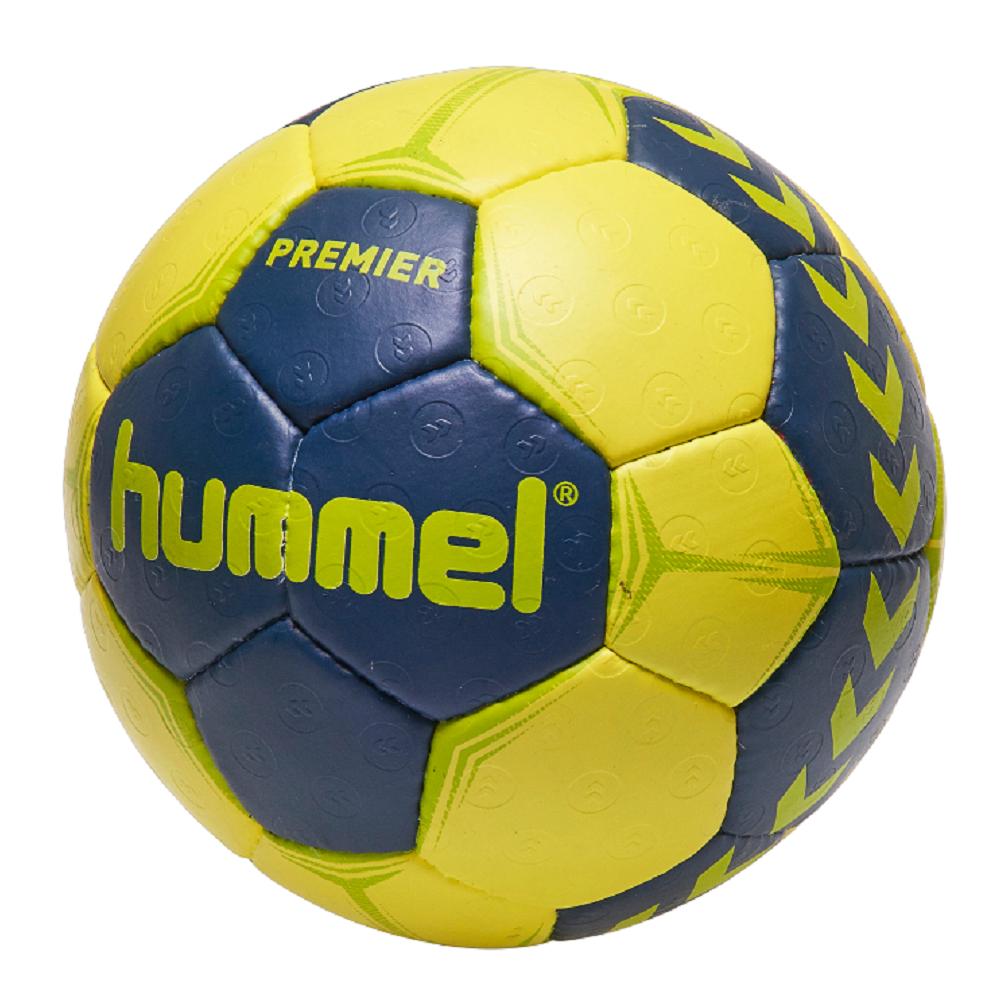 hummel premier handball ball blau gelb grun verschiedene grossen 091790 8676