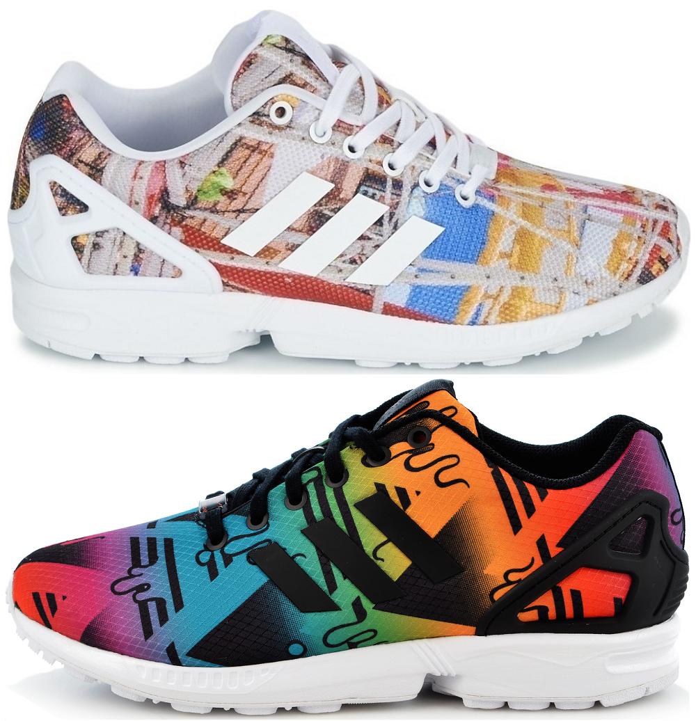 ee2c78b9a NEW adidas Originals Torsion ZX Flux Sneaker Sports Shoes Trainers ...