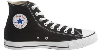 Converse Chuck Taylor Chucks CT All Star Hi High Sneaker schwarz