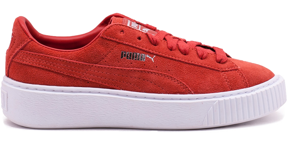 Details about Puma Suede Platform Classic Retro Vintage Sneaker Shoes red  362223 03 WOW SALE