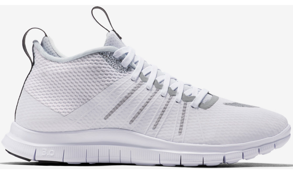 best sneakers 94696 85c65 Nike Free Hypervenom 2 FS Running Shoes white gray