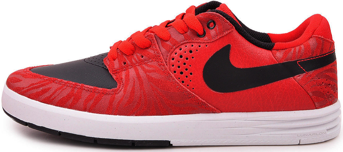 947b424fa4f1 Details about Nike SB Paul Rodriguez 7 Lunar Premium Sneakers Sport Shoes  red 599604 601 SALE