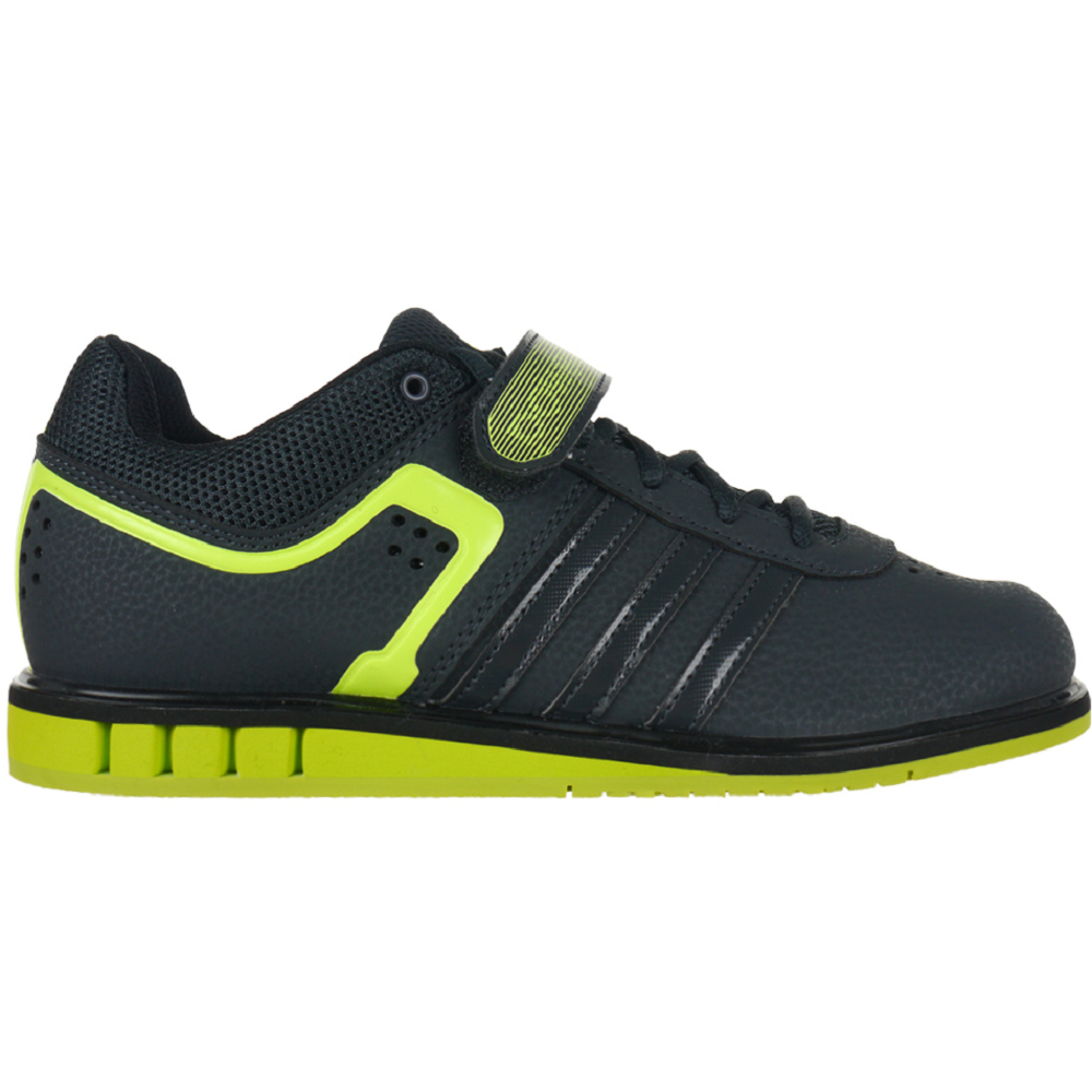 8f381c4805d Adidas Powerlift II Workout Shoes Weightlifting Shoes Fitness  anthracite black neon