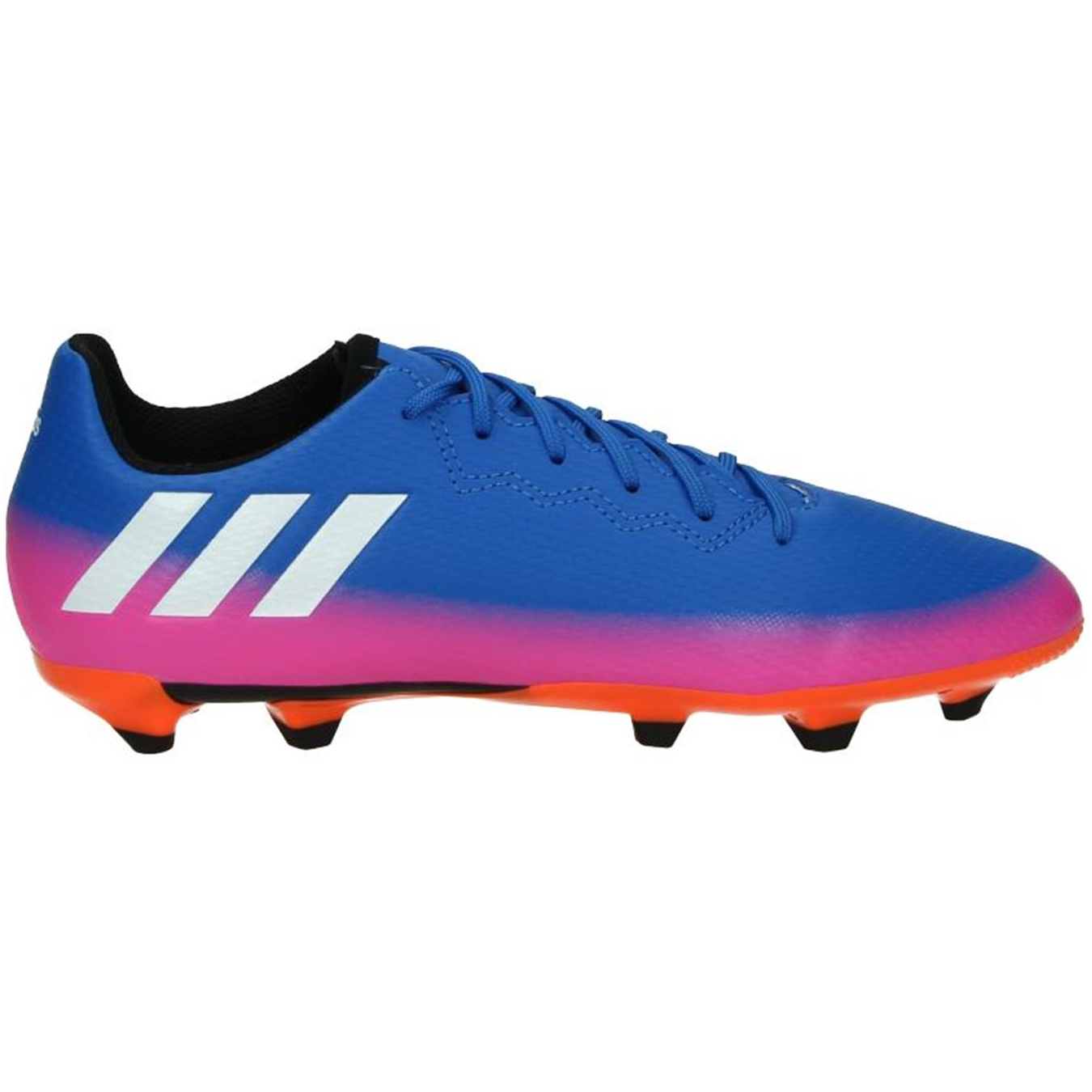 size 40 32e25 a5108 Adidas Messi 16.3 FG J Soccer Shoes Football Boots  blue pink orange white black