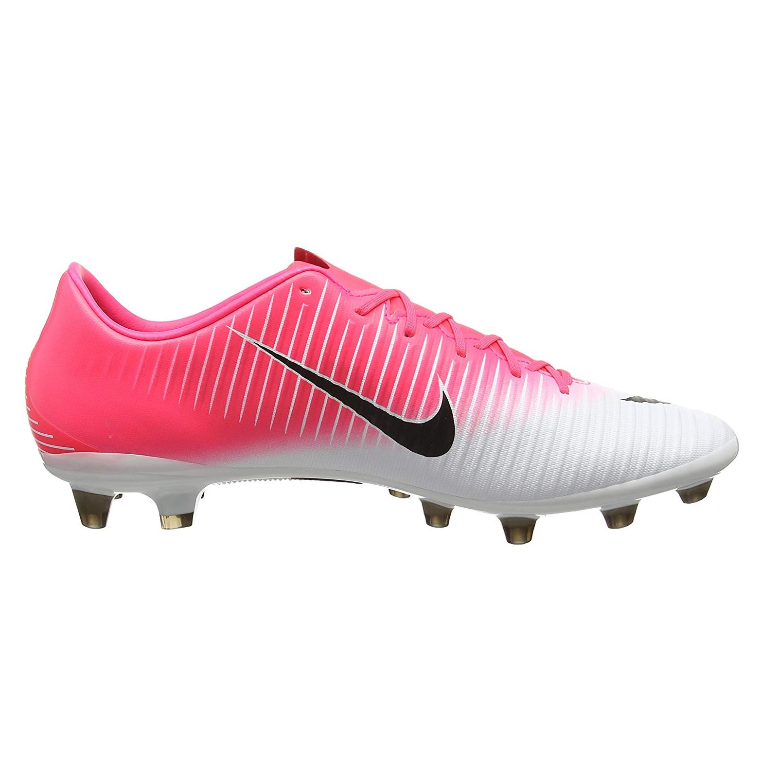 Nike Mercurial Veloce III AG PRO Fußballschuhe pinkweissschwarz 850793 601