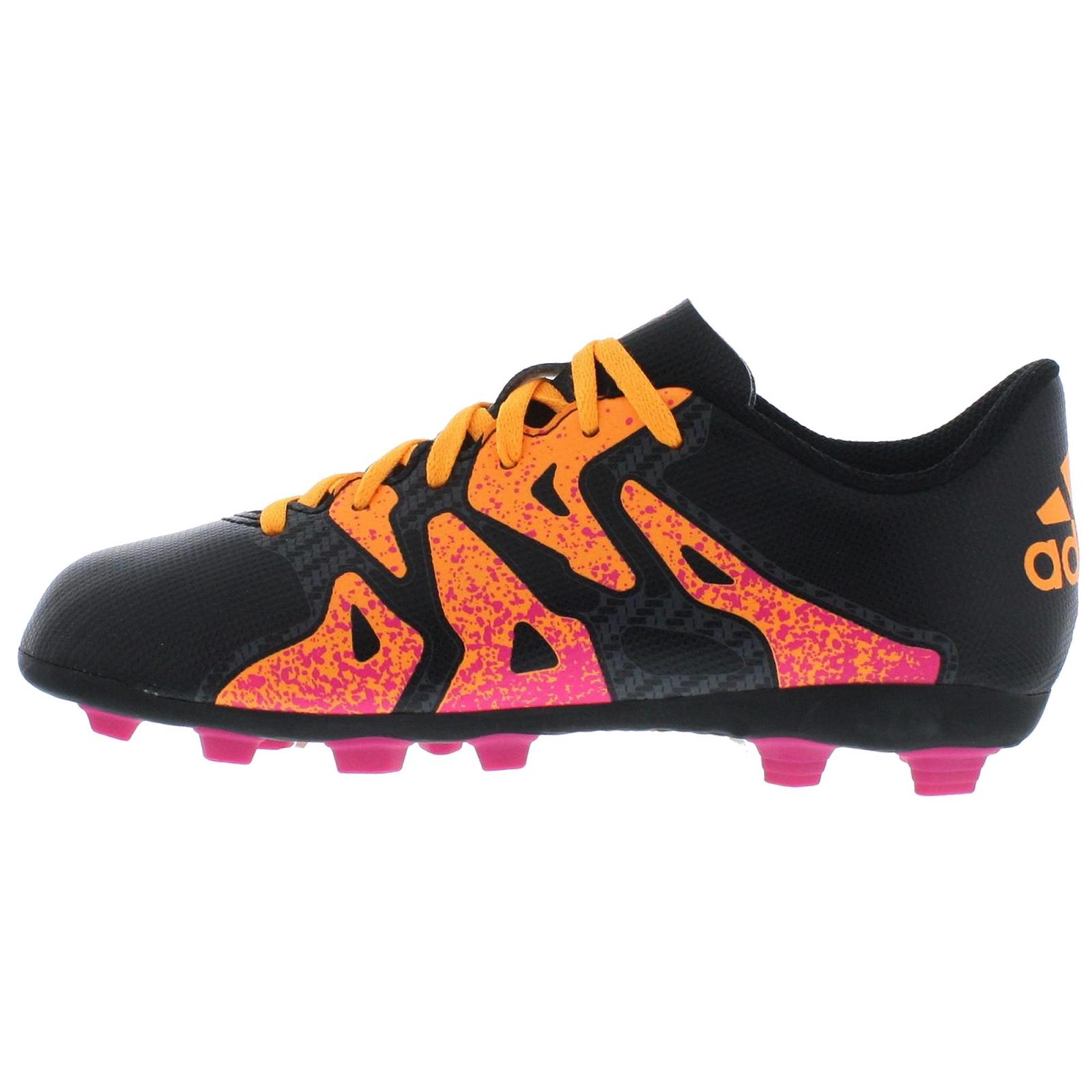 Adidas X15 4 Fxg Fussballschuhe Schwarz Orange Pink S78170