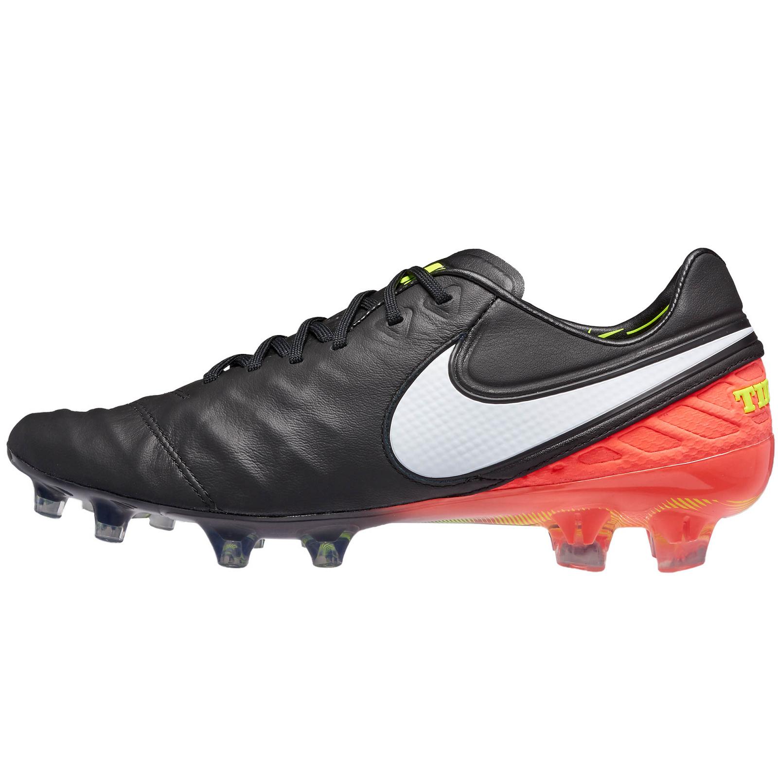 sports shoes d05a0 37e26 Nike Tiempo Legend VI FG Fußballschuhe schwarz/weiss/orange 819177-018