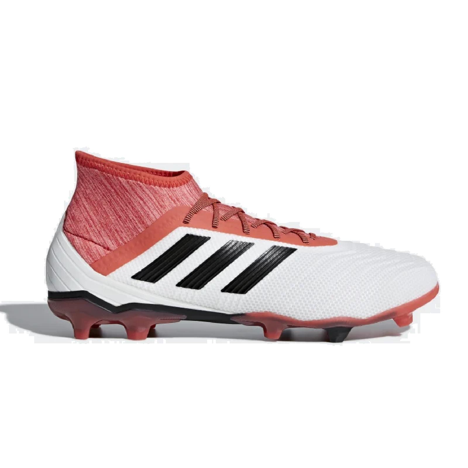 Adidas Predator 18 2 Fg Fussballschuhe Weiss Schwarz Rot Cm7666