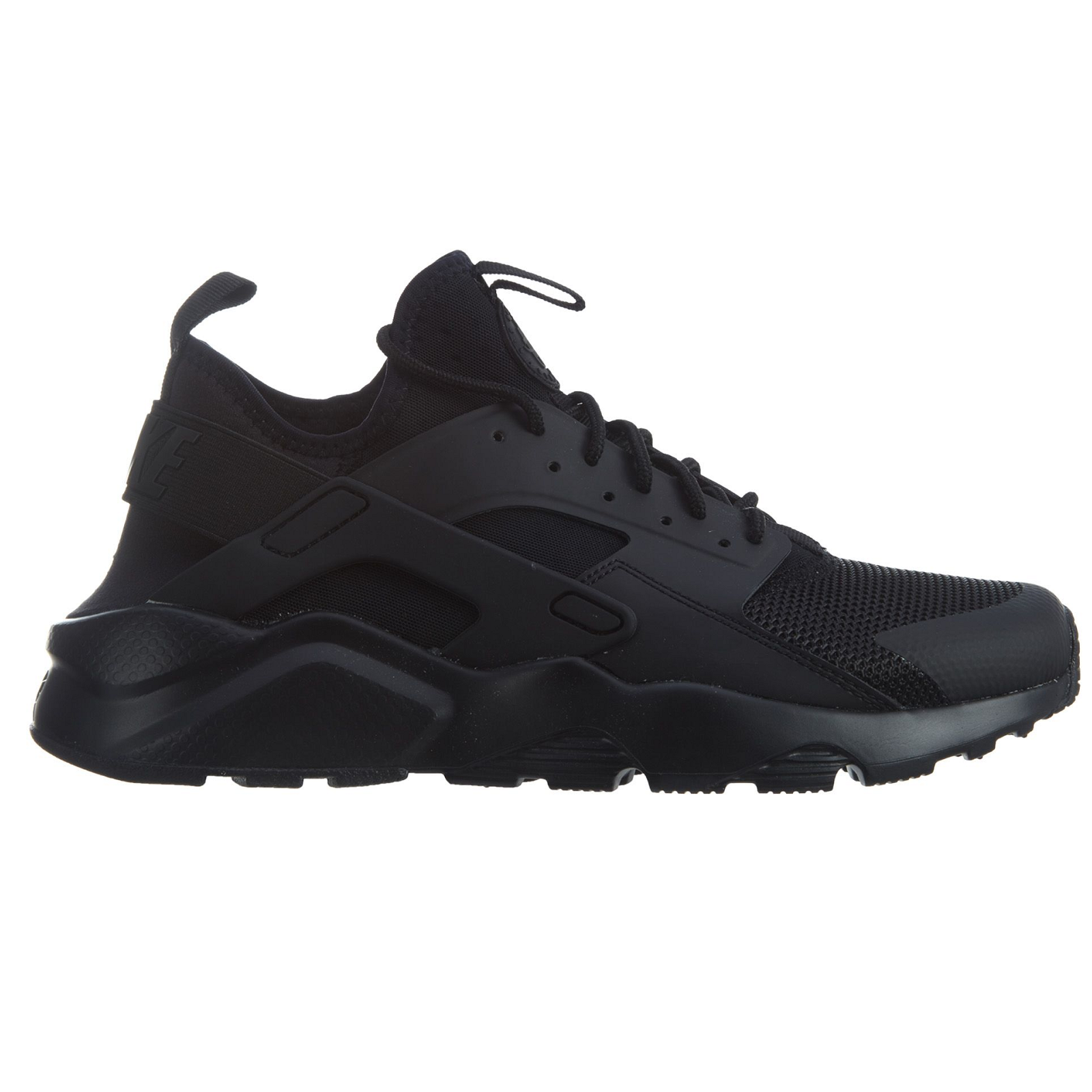 new arrival e375c d62fc Nike Air Huarache Run Ultra All Black Sneaker Sport Shoes 819685-002