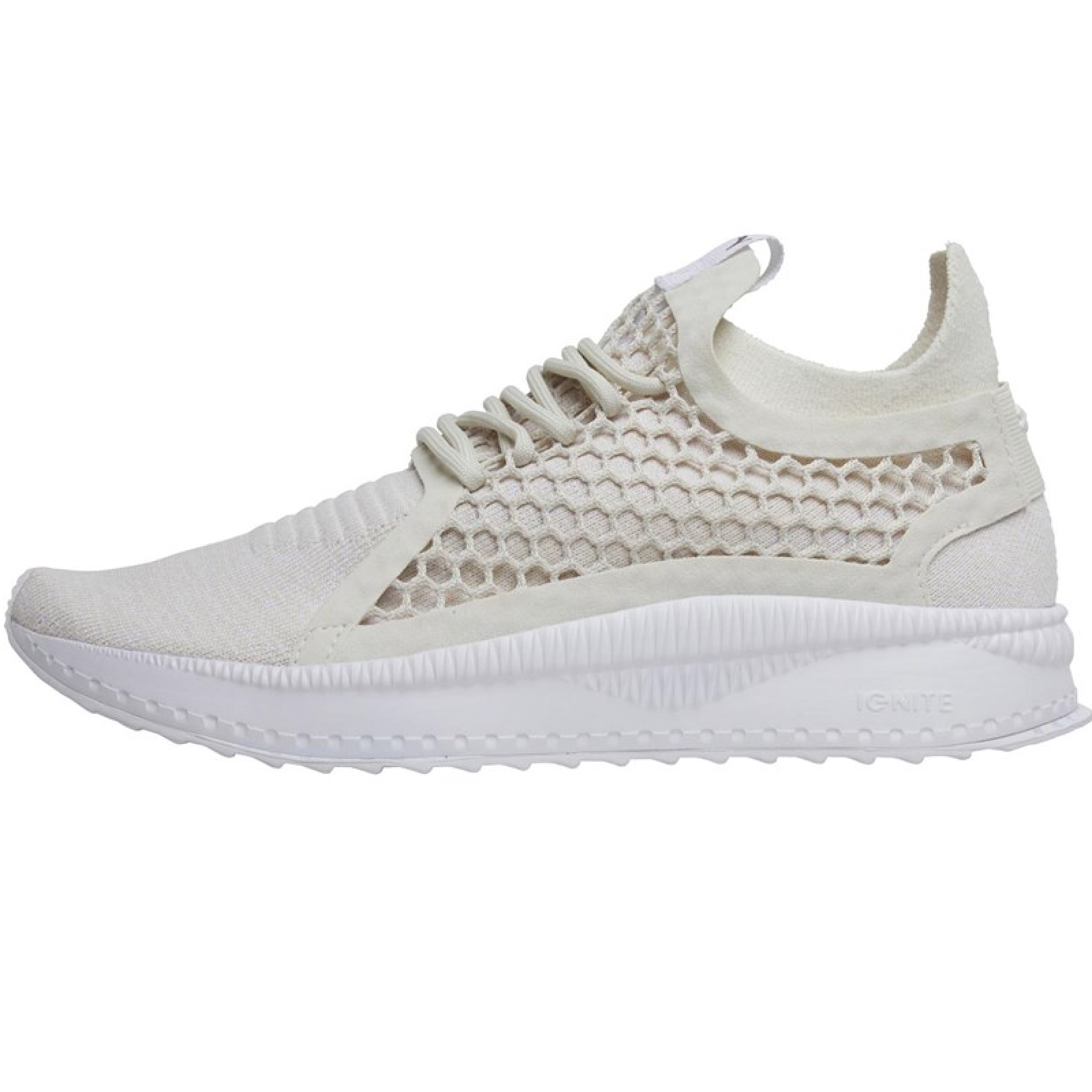 Puma Tsugi Netfit V2 EvoKnit Sneaker weissbeige 365487 01