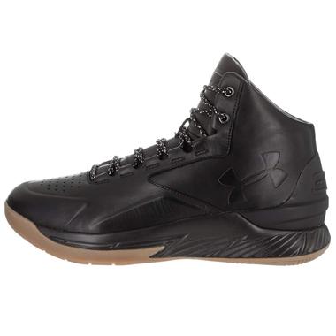 wholesale dealer 1f556 5ddd0 Under Armour Curry 1 LUX Mid Lth Basketball Sneaker schwarz 1296616-001