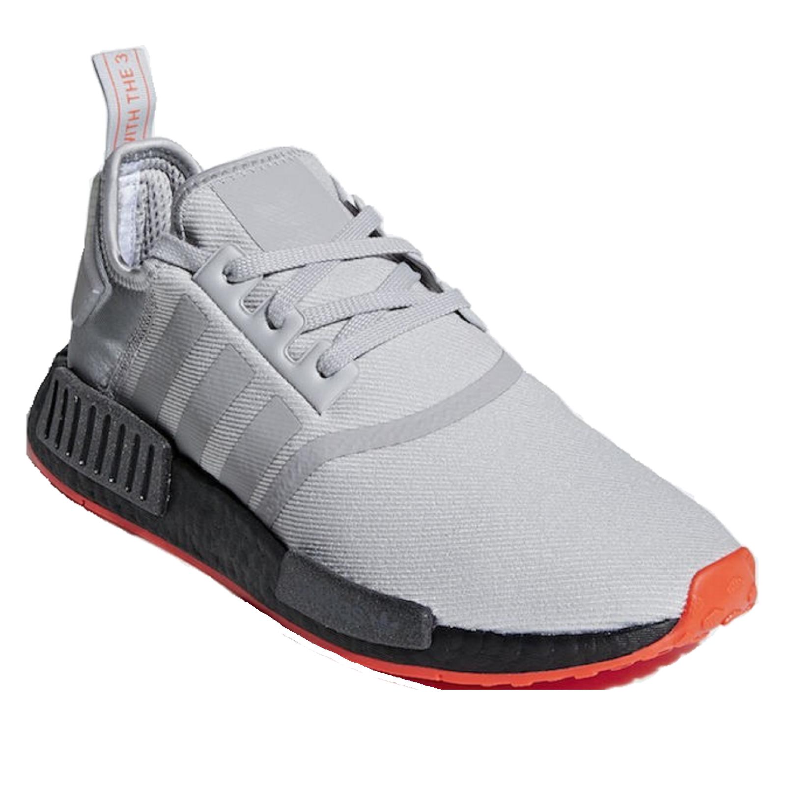 Adidas Originals NMD R1 Schuhe Sneaker grauschwarzrot F35882