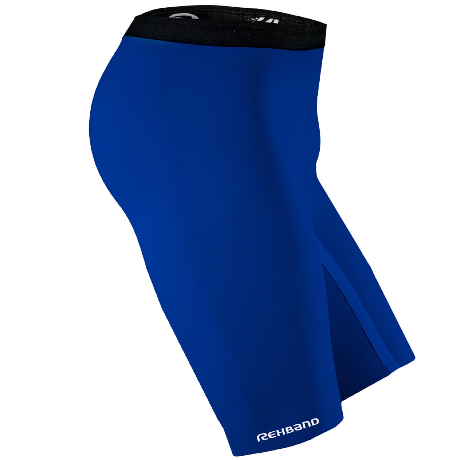 Rehband QD Thermal Zone Shorts Herren Kompressions Hose Sporthose blau 804103