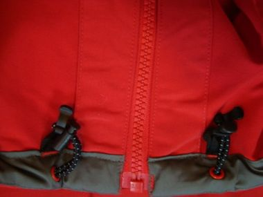 Adidas Hiking CPR Outdoorjacke Jacke rot – Bild 4