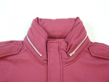 Adidas Originals A.039 M Patch Jacke bordeaux – Bild 2
