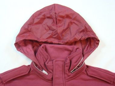 Adidas Originals A.039 M Patch Jacke bordeaux – Bild 3