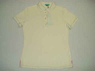 Lybwylson by Toff Togs Poloshirt Damenshirt Shirt beige