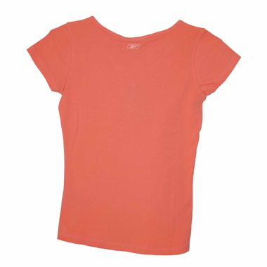 Reebok V Neck Button Damen T-Shirt lachs shirt – Bild 2