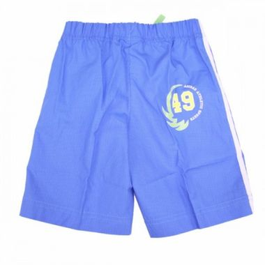 Adidas Athletic Sports Bermuda Short blau/weiß – Bild 2
