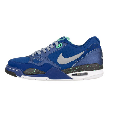 Nike Air Max Flight 13 Low Basketball Sneaker blau/grau/schwarz/weiß – Bild 1