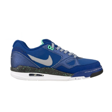 Nike Air Max Flight 13 Low Basketball Sneaker blau/grau/schwarz/weiß – Bild 2
