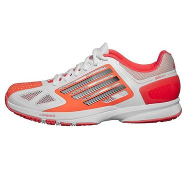 Adidas Adizero Feather Pro Handball Indoor Hallenschuhe weiß/infrared – Bild 1