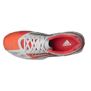 Adidas Adizero Feather Pro Handball Indoor Hallenschuhe weiß/infrared – Bild 4