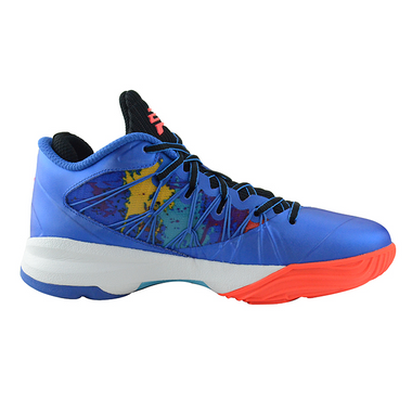 Nike  Air Jordan CP3 VII AE Artisan Edition Basketballschuhe Chris Paul Sneaker blau/bunt – Bild 2
