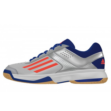 Adidas Counterblast 3 Handball Volleyball Indoor Hallenschuhe silber/blau/orange – Bild 1