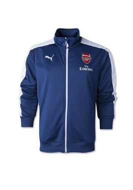 Puma Arsenal London FC T7 Anthem Jacket SPO blau