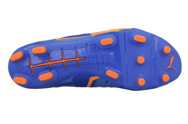 "Puma Evopower 1 H2H FG ""Head To Head"" Fussballschuhe Tricks Graphic Kollektion two face blau/orange – Bild 4"