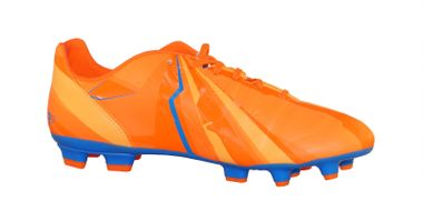 "Puma Evopower 3 H2H FG ""Head To Head"" Fussballschuhe Tricks Graphic Kollektion blau/orange – Bild 4"