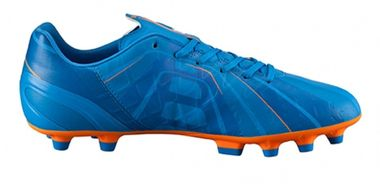 "Puma Evospeed 4 H2H FG ""Head To Head"" Fussballschuhe Tricks Graphic Kollektion orange/blau – Bild 1"